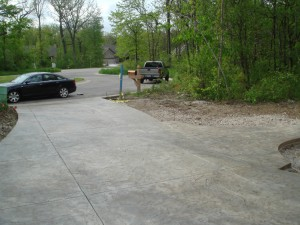 Pleasant Prairie Concrete Driveway