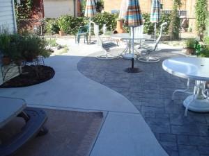 Racine Stamped Concrete