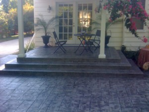 Decorative Concrete Steps & Stoops