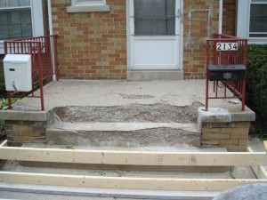 Concrete Steps Amp Stoops Urban Creative Contractor